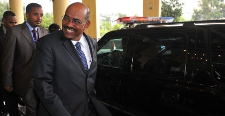 Sudanese President Omar al-Bashir.  By Simon Maina (AFP)