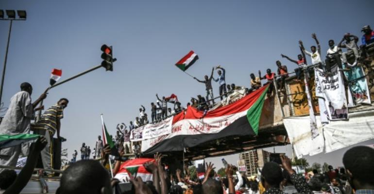 One Week After Bashir Ouster Sudan \'Revolution\' Unfinished