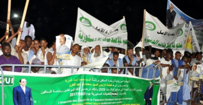 Mauritania referendum campaign starts under opposition boycott
