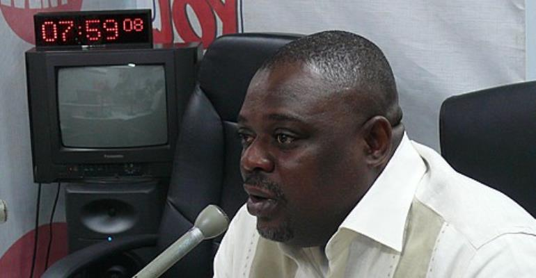 Communication Director at the Presidency, Koku Anyidoho
