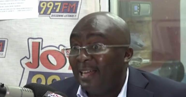 Mahama's 'kaakaamotobi' Economy Scaring Investors; Not Me – Bawumia