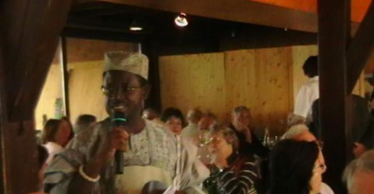 Baah-Duodu addresses Ex-Ghana/Swiss Society