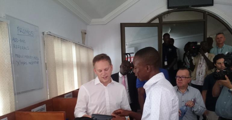 Grant Shapps Of The UK Visits PEG Ghana