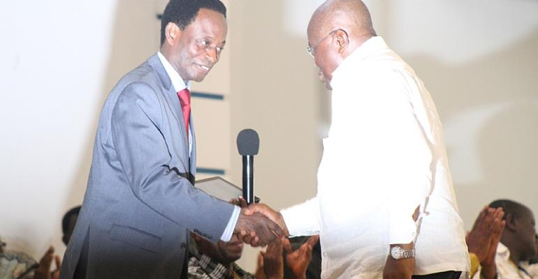 Nana Akufo-addo Visits Pentecost Convention Centre