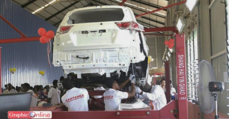 Kantanka automobile plant inaugurated