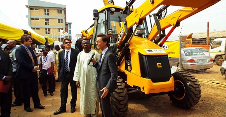 Roads and Highways Minister calls CFAO to assemble heavy duty equipment in Ghana