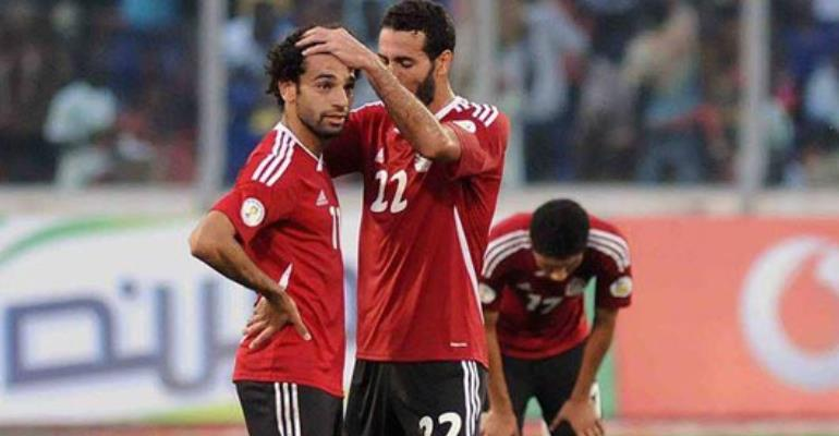 Egypt players left ashen faced after 6-1 defeat to Ghana in Kumasi.