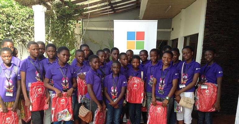 Airtel And Microsoft Encourage Young Ghanaian Females To Choose A Career In ICT