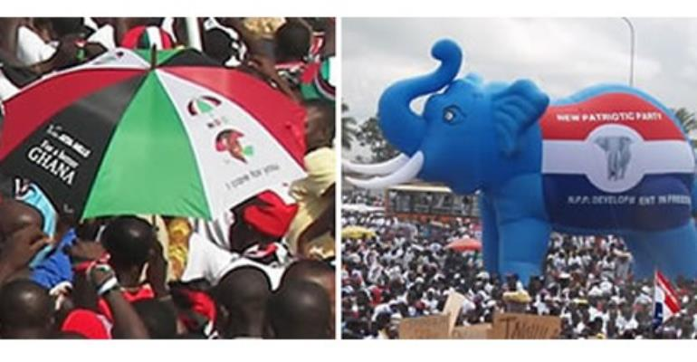 NDC and NPP grabbing state assets
