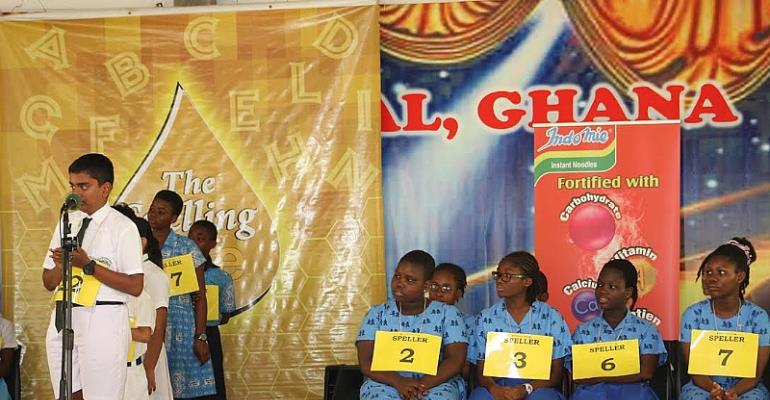 Seven DPSI students to represent Tema in the National Spelling Bee.