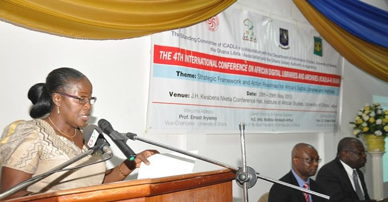2nd Lady Calls For The Establishment A Regional Network Of Digital Libraries In Africa