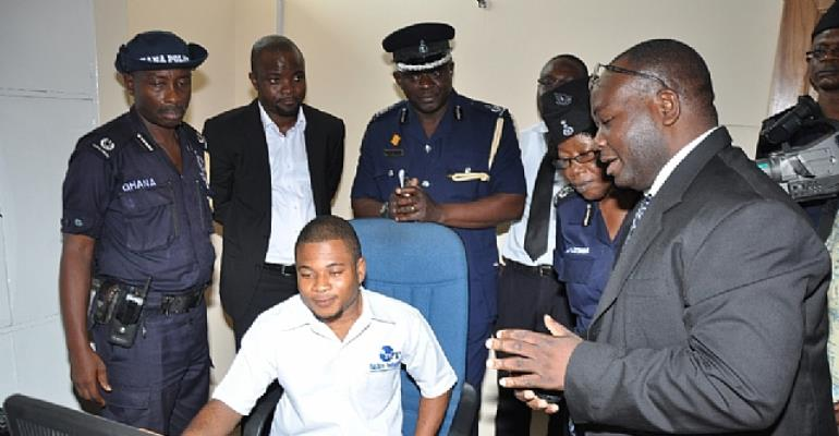 VODAFONE GHANA SUPPORTS GHANA POLICE SERVICE TO FIGHT CRIME