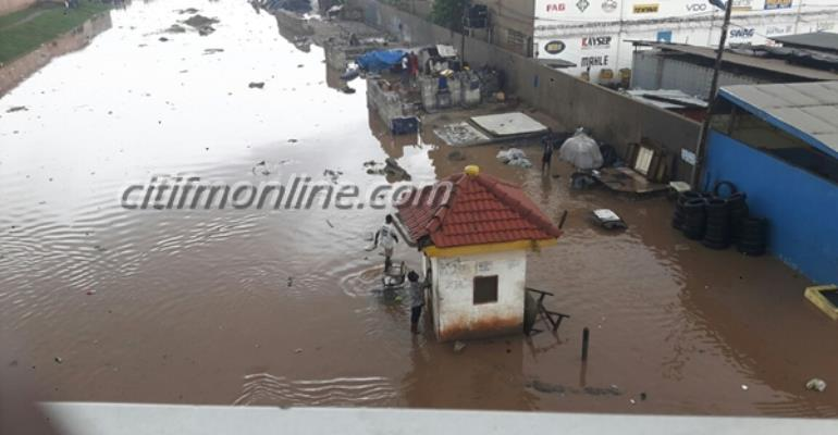 Accra floods in pictures