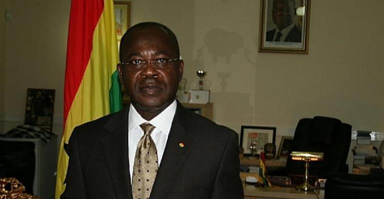 H.E Prof Kwaku Danso-Boafo, Ghana High Commissioner To The UK