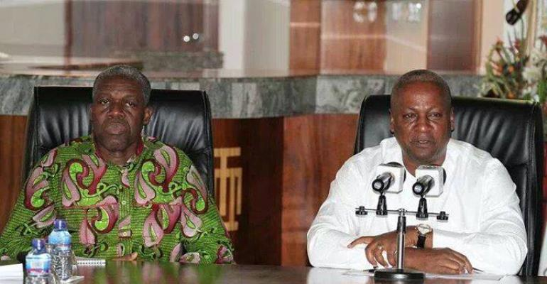 An Appraisal Of Incompetence Of The Mahama Administration