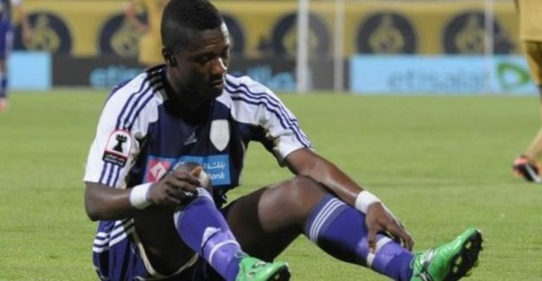 Al Ain must pay £10 for permanent Asamoah Gyan deal
