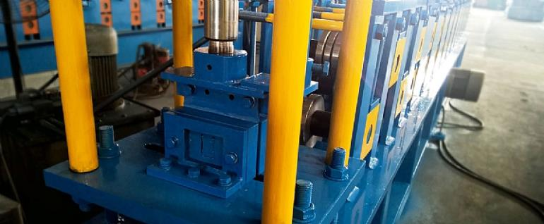 METAL C STUD TRACK ROLL FORMING MACHINE COMPLETED