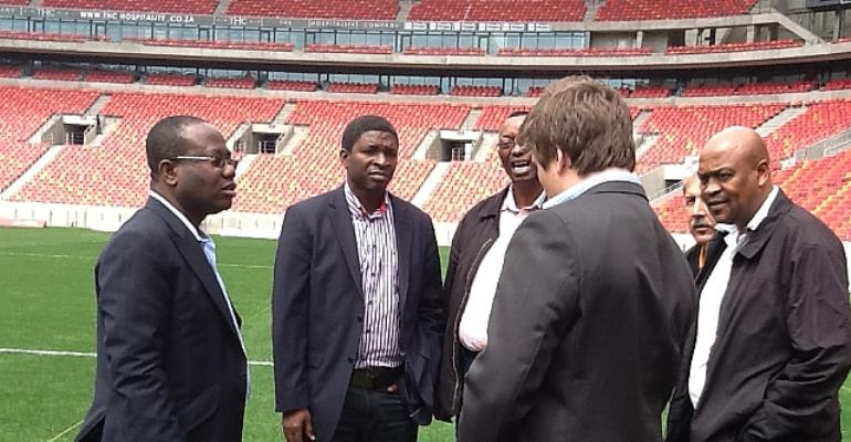 Ghana FA inspects Black Stars AFCON base in SA