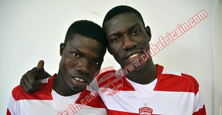 Francis Narh and Derrick Mensah have already been sold to Club Africain