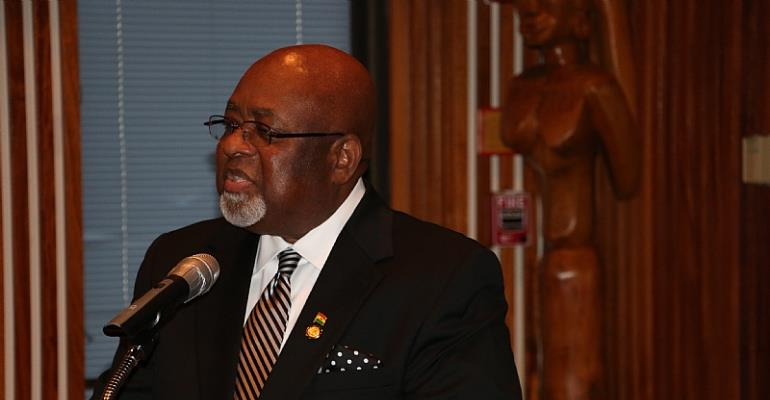 Ghanaians In Diaspora Engages Ghana's Ambassador To The USA