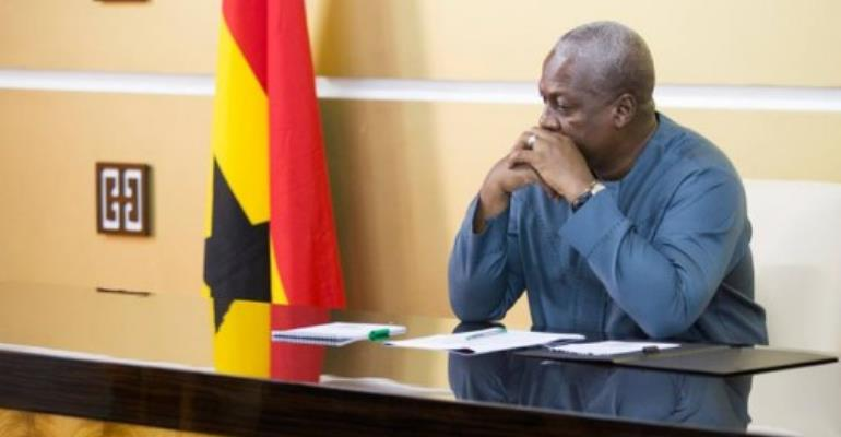 Under Fire  Mahama Urged To Resign Honourably