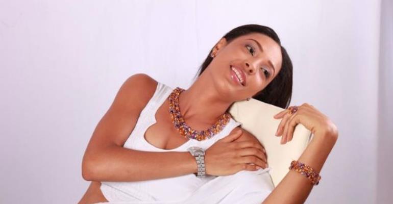 Hot Ghanaian Actress, Nikki Samonas, Any Nollywood Actress Her Match?