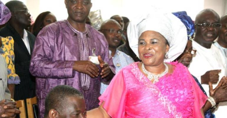 President Jonathan Tells Aides First Lady Is Still Alive--Report