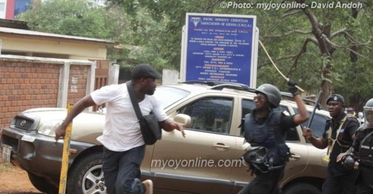 Why Are The Ghana Police Assaulting Peaceful Demonstrators?
