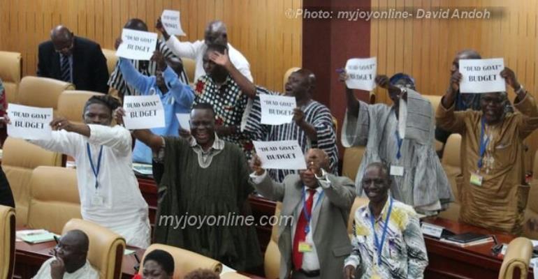 'Dead goat 2016 budget' provides little inspiration - Minority Leader