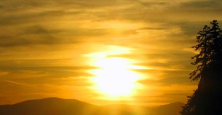 Sunshine is a natural source of vitamin D