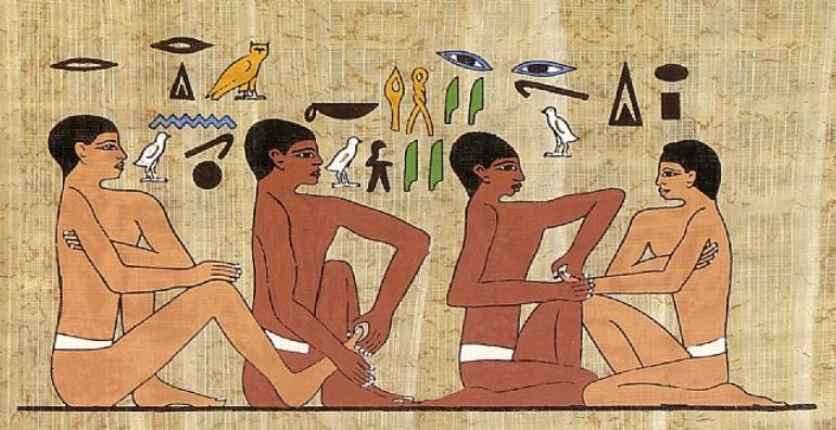Massage In Ancient History