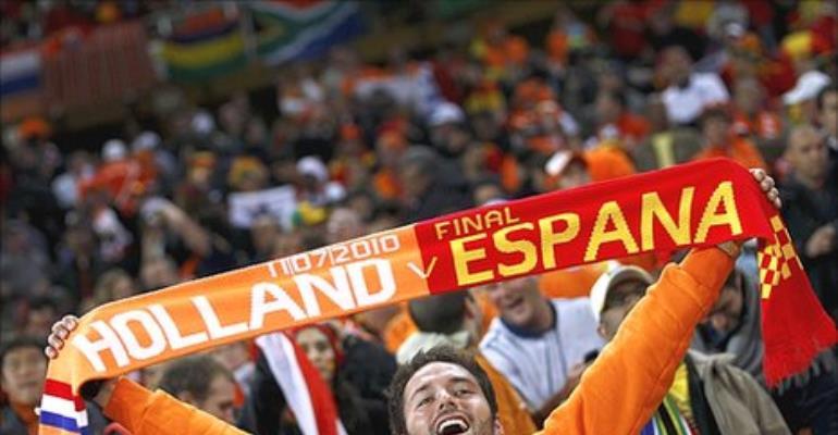 Full Time: Netherlands 0-1 Spain