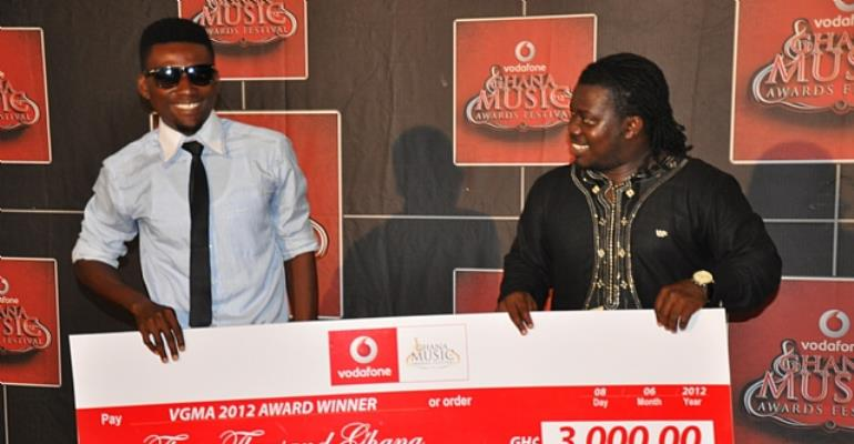 2012 Vodafone Ghana Music Awards presented with prizes