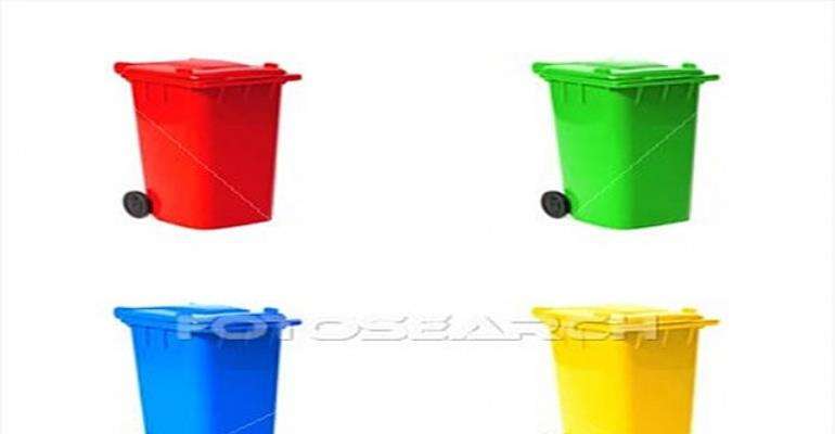 Accra residents turn waste bins into water containers