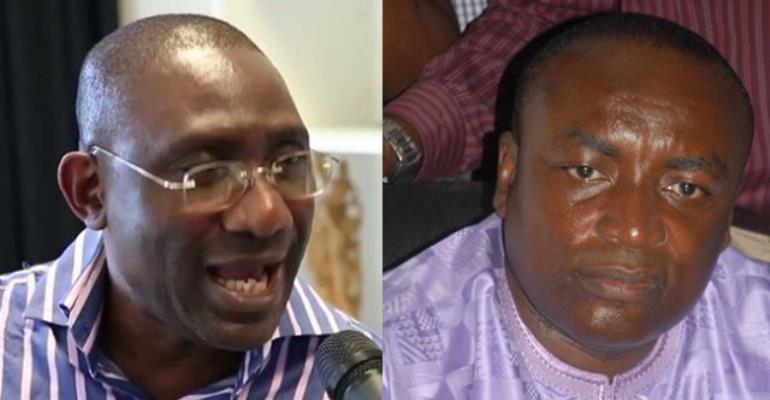 Suspending Kwabena Agyepong, Crabbe lesser of two evils - Amoako Baah