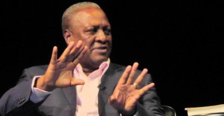 I have never taken a bribe before - Mahama