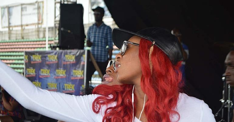 Adorable Photos of Cynthia Morgan & Seyi Shay At #StarMusicTrek Benin