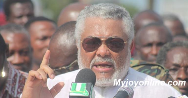 Rawlings condemns Dzifa Attivor; clears Akufo-Addo of tribalism