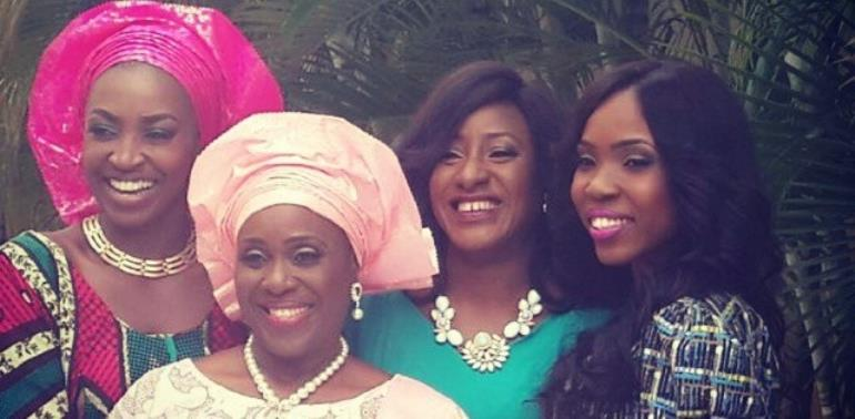 Joke Silva, Kate Henshaw, Others Dazzle In 'The Wives' Photo Shoot