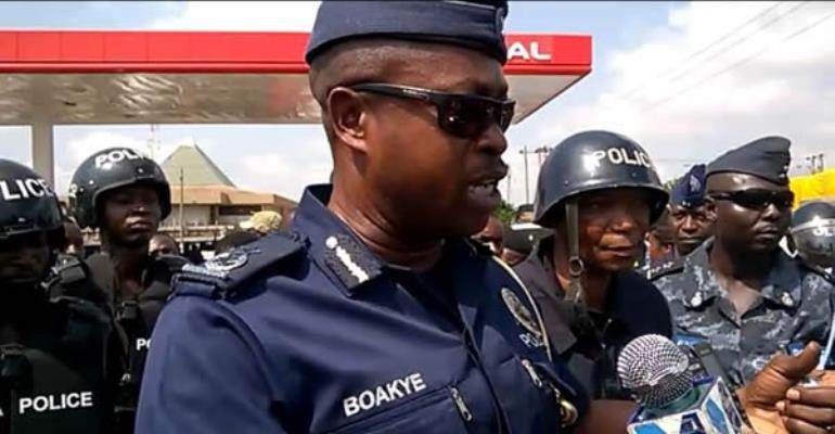 Arms haul: Ashanti Police assure residents of safety