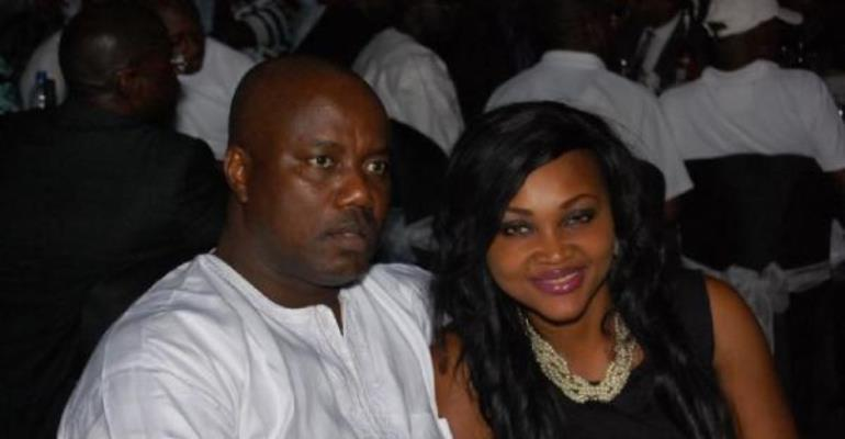 STAR ACTRESS MERCY AIGBE'S HUBBY DETAINED FOR FRAUD?