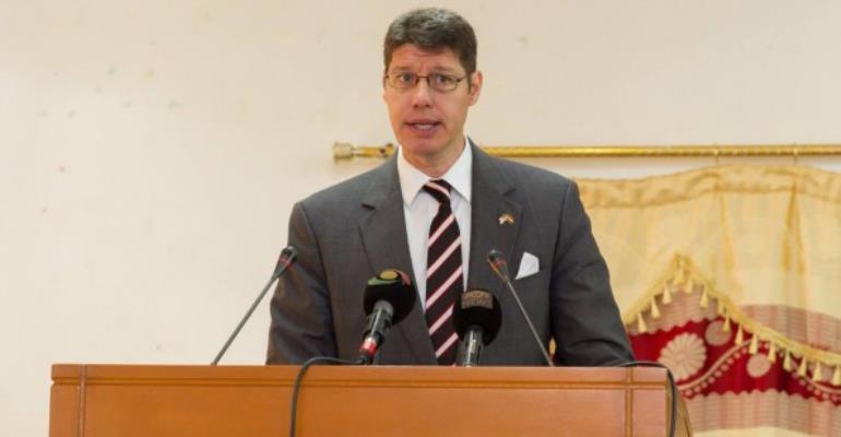 Mr Daniel Fennell, US Embassy in Accra