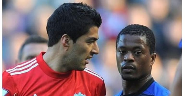 Suarez was handed an eight-match ban for racially abusing Evra