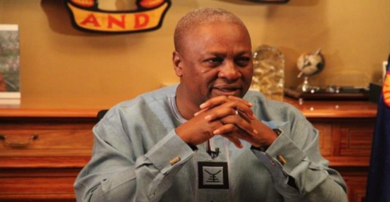 I Have Dead Goat Syndrome - Mahama Tells Ghanaians