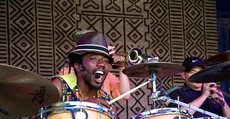 Meet Ghana's Most Artistic Drummer Paa Kow, Making Waves In The USA