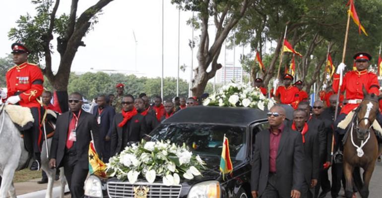 Ghanaians in Oldenburg hold Memorial Service for the late President Evans Atta Mills