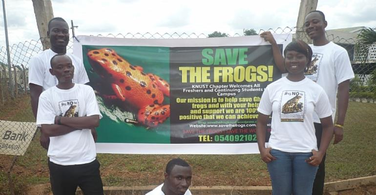 SAVE THE FROGS! Ghana Being Supported by UK-based Rufford to Slow down Frog-meat Eating and Trade in Northern Ghana