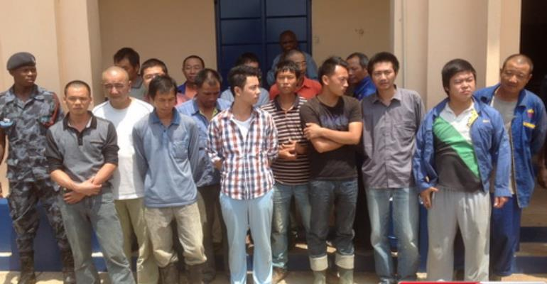 China Mission: Illegal Miners Aren't Covered Under The International Law