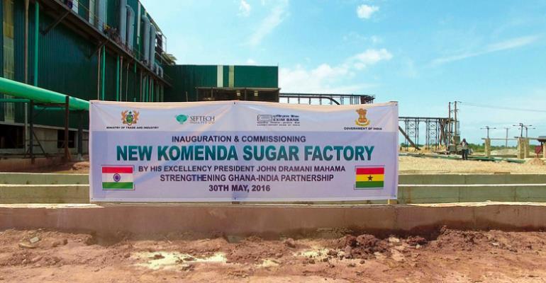 Komenda Factory Has Produced No Sugar From Sugarcane