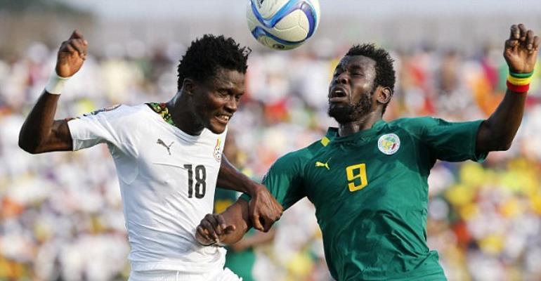 Ghana defender Daniel Amartey